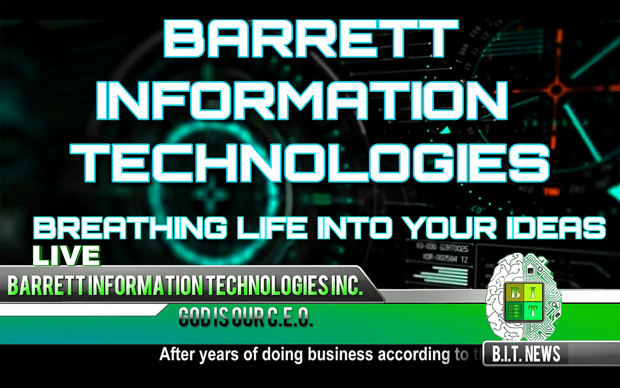 Barrett Information Technologies, Inc. - Breathing Life Into Your Ideas